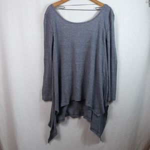 Free people oversized thermal shirt